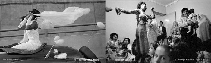 GarcíaRodero-Velo al viento, 1977& Hengameh Golestan-Wedding in Suburbs of Teheran, 1978 (1).jpeg